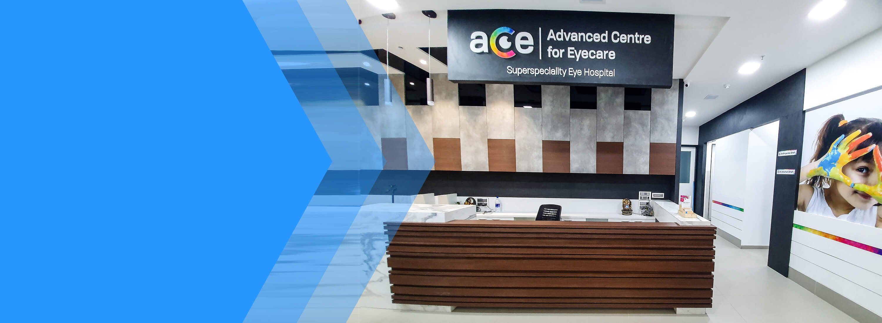 advance ace eye care center banner