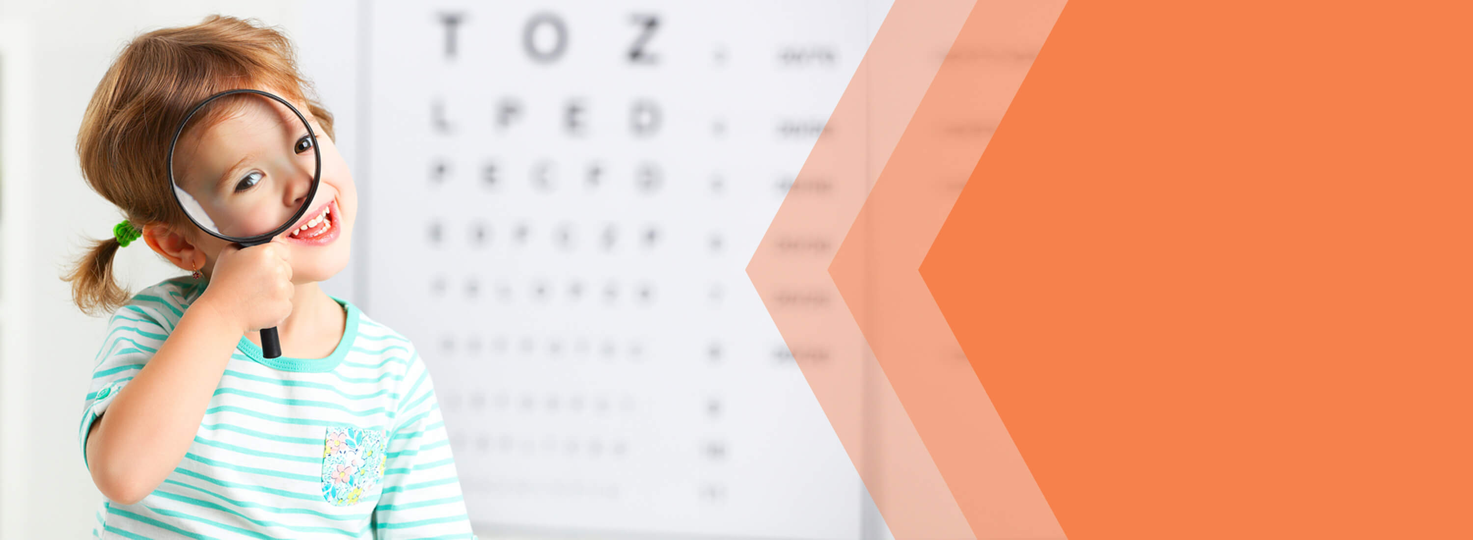 pediatric eye care banner